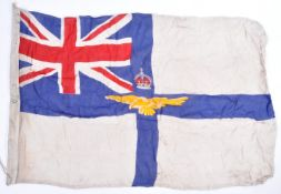 WWI FIRST WORLD WAR ROYAL FLYING CORP LINEN FLAG