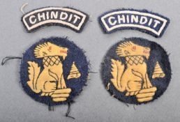 COLLECTION OF WWII SECOND WORLD WAR ' CHINDIT ' CL