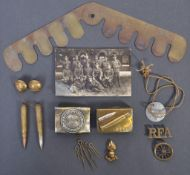 COLLECTION OF WWI FIRST WORLD WAR SOLDIER'S EFFECT