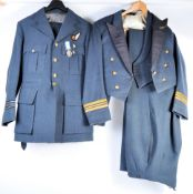 TWO RAF BRITISH ARMED FORCES DRESS UNIFORMS
