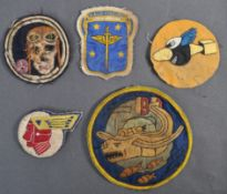 WWII US AIR FORCE / AVIATION FLYING JACKET PATCHES