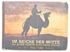 RARE GERMAN ' IM REICHE DER MITTE ' CIGARETTE CARD