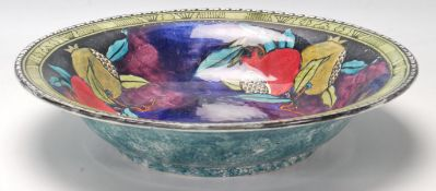 A Hancock & Sons Rubens Ware Bowl, hand painted by