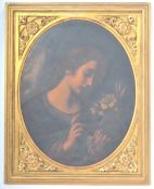 ANTIQUE ITALIAN SCHOOL RENI MANNER PAINTING OF AN