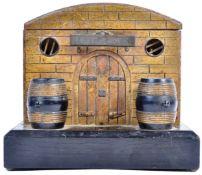 RARE 19TH CENTURY FRENCH CIGAR BOX 'CIGARES' SHOP
