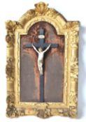 RARE 18TH CENTURY DIEPPE IVORY CORPUS CHRISTI
