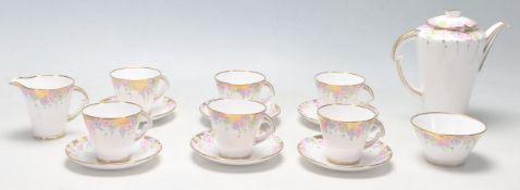 VINTAGE STANDARD CHINA ENGLISH PORCELAIN TEA SET