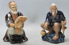 ANTIQUE STYLE CHINESE TERRACOTTA FIGURES