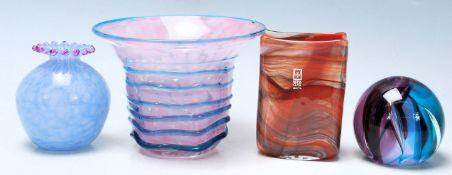 MALTESE AND SCOTTISH STUDIO GLASS