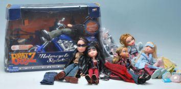 A boxed Bratz Dolls Bratz Boy doll motorcycle toy