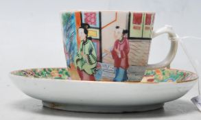 A 19th century Chinese / Canton /Cantonese cup and