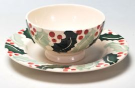 A late 20th Century ceramic tea cup and saucer by