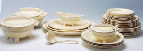 "A 20th century Bristol pottery "" Amberone "" patten"