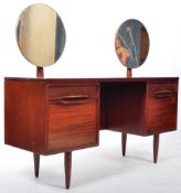 WHITE & NEWTON AFROMOSIA TEAK WOOD DRESSING TABLE DESK