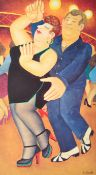 BERYL COOK SIGNED PRINT ENTITLED ' DIRTY DANCING '