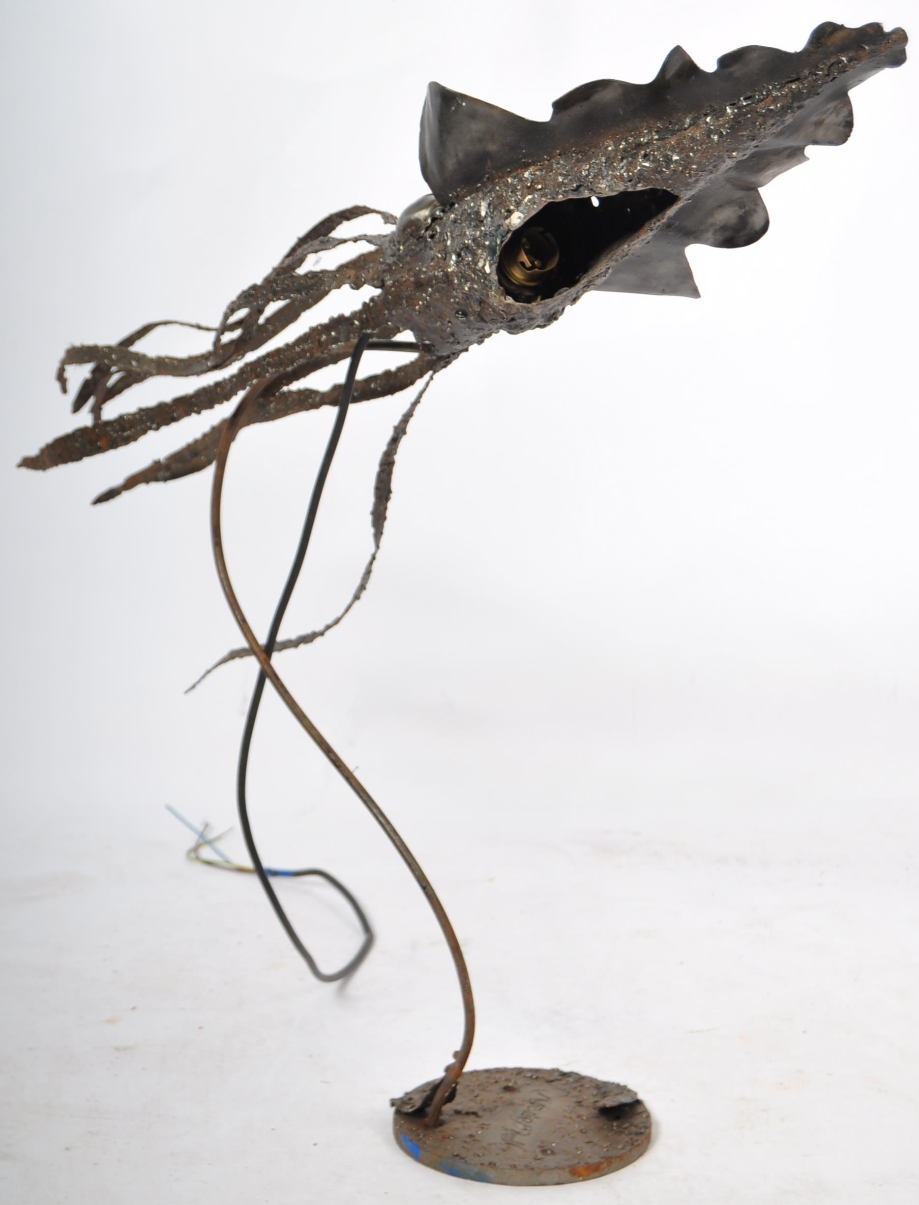 Lot 2 - LARGE 20TH CENTURY METAL SCULPTURE OF A SQUID