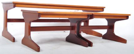MID CENTURY TEAK NESTING TABLES BY PORTWOOD OF GLASGOW