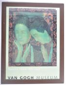 FRAMED AND GLAZED PROMOTIONAL MUSEUM POSTER FOR MAURICE DENIS