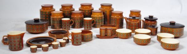 COLLECTION OF HORNSEA BRONTE PATTERN CHINA CERAMICS