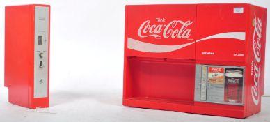 VINTAGE GERMAN COCA COLA DRINKS ADVERTISING VENDING MACHINE