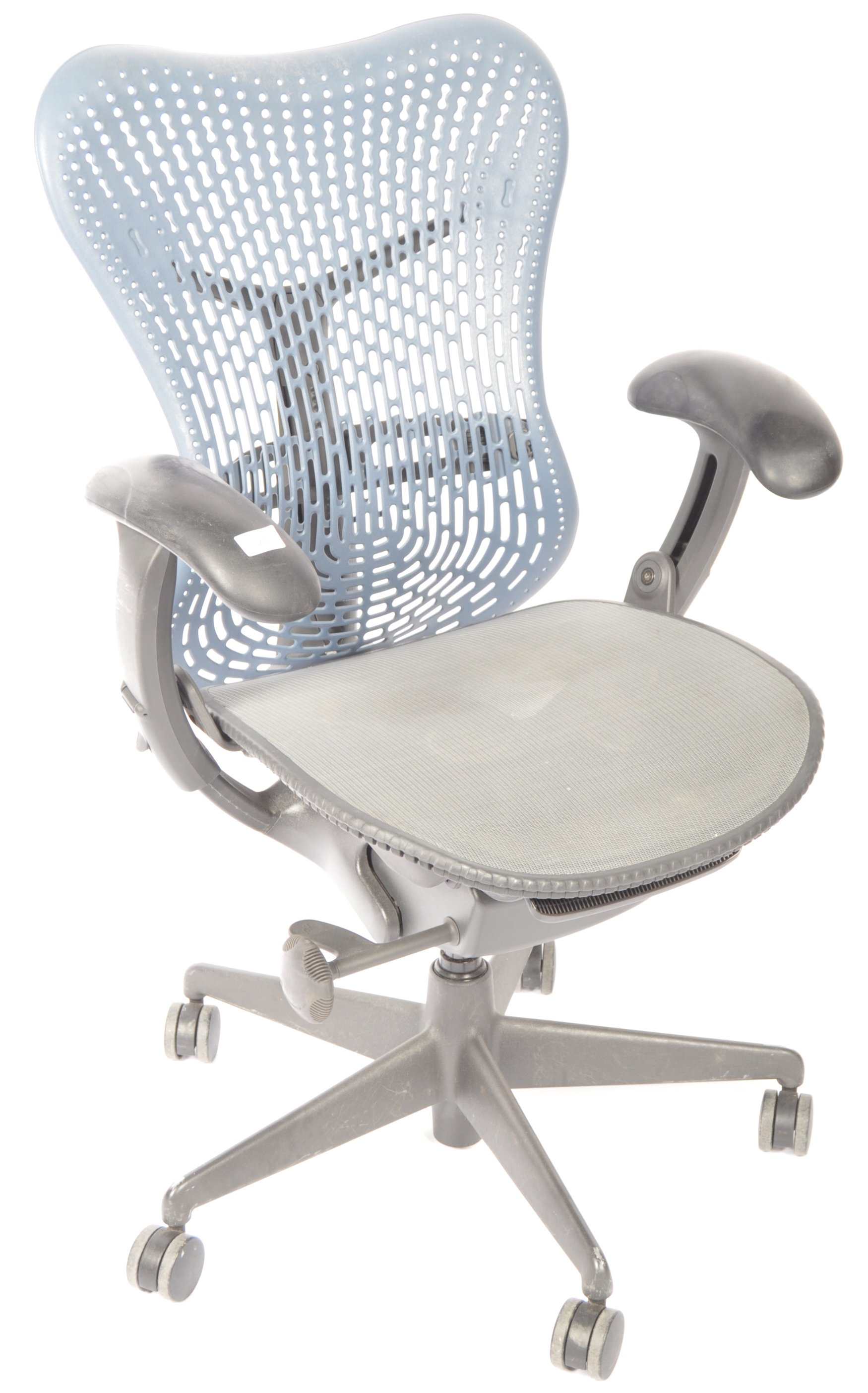 Lot 20 - HERMAN MILLER MIRRA 2 SWIVEL DESK CHAIR BY STUDIO