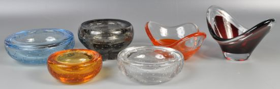 COLLECTION OF ASSORTED WHITEFRIARS AND OTHER GLASS