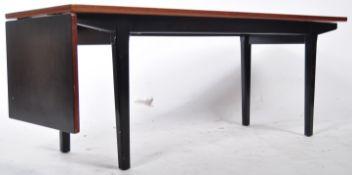 MID CENTURY NATHAN METAMORPHIC SLIDING TOP COFFEE TABLE