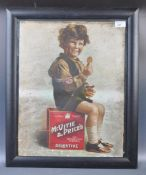 MCVITIE & PRICE'S POINT OF SALE ADVERTISING SHOWCARD