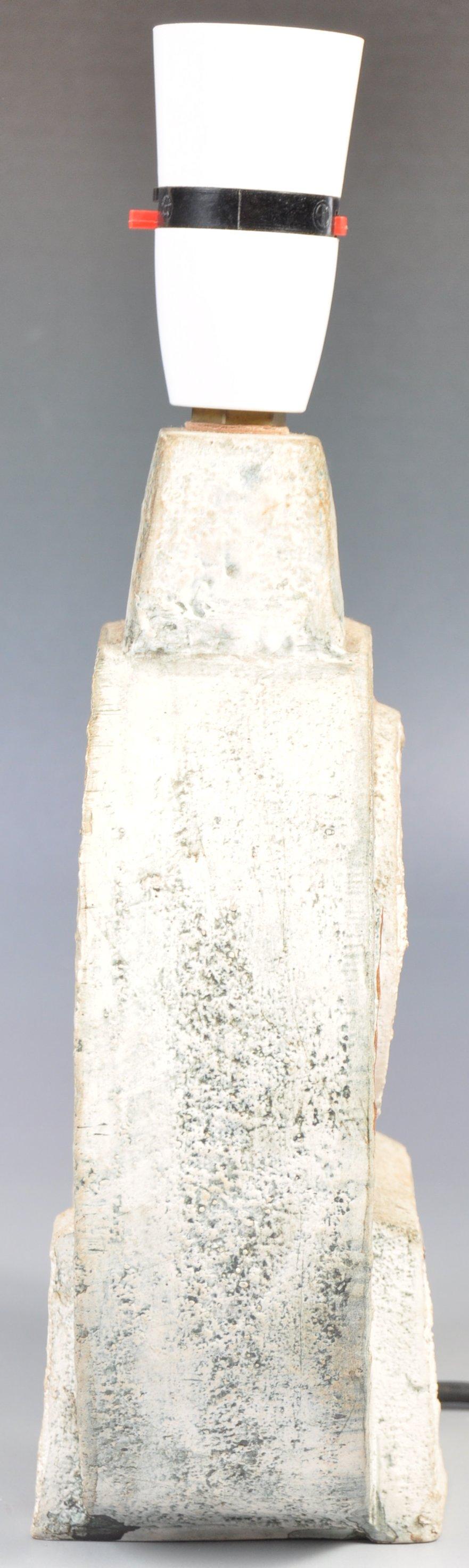 SIMONE KILBURN WHEEL VASE LAMP BY TROIKA - Image 3 of 6
