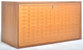 MID CENTURY RECORD CABINET / STOARGE UNIT