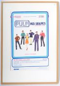 PULP MIS-SHAPES PATTERNS ADVERTISING POINT OF SALE POSTER