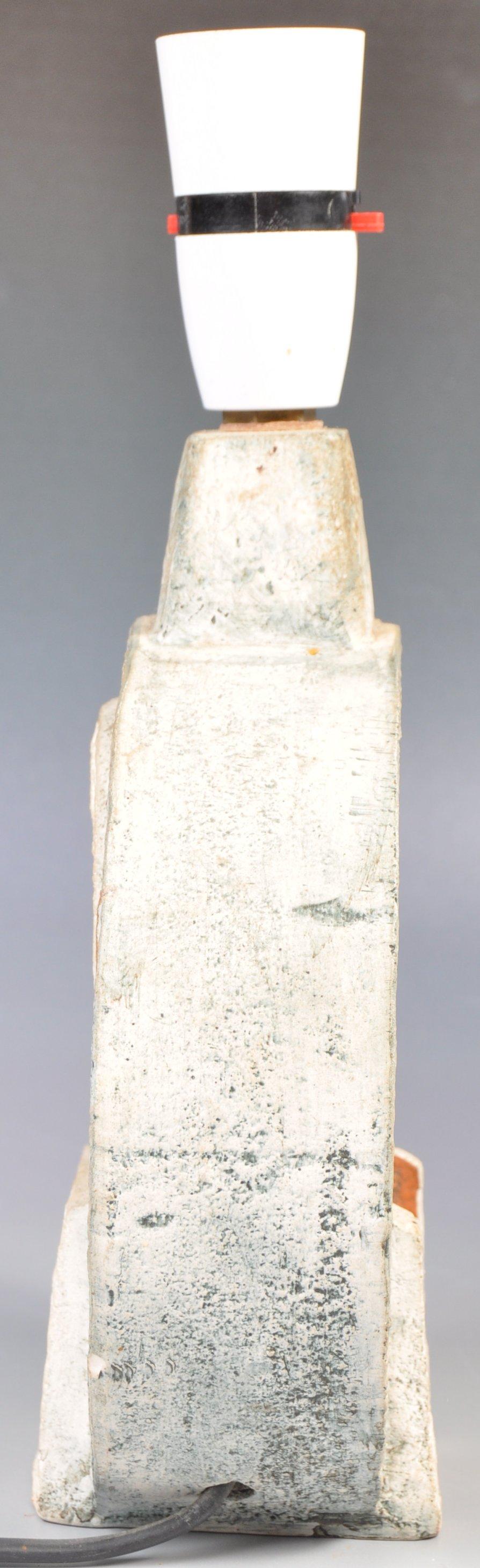 SIMONE KILBURN WHEEL VASE LAMP BY TROIKA - Image 5 of 6