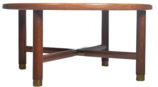 BRITISH MID CENTURY DESIGN - GPLAN TEAK SUNBURST COFFEE TABLE