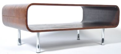 2OTH CENTURY RETRO MOULDED BENTWOOD COFFEE TABLE