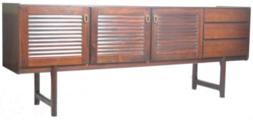 MCINTOSH & CO STUNNING SIDEBOARD CREDENZA RAISED ON CYLINDRICAL LEGS