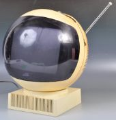 MID CENTURY VIDEOSPHERE TV BY JVC FINISHED IN CREAM