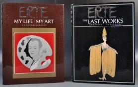 ERIC ESTORICK ERTE DESIGN HARDBACK BOOKS