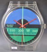 NICOLAS HAYEK FOR SWATCH NAUTILUS WALL CLOCK 1987