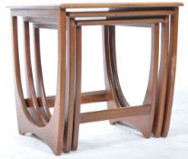 G PLAN ASTRO NEST OF TEAK TABLES IN THE ASTRO PATTERN