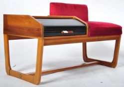 MYER RETRO VINTAGE TAMBOUR FRONTED TELEPHONE TABLE