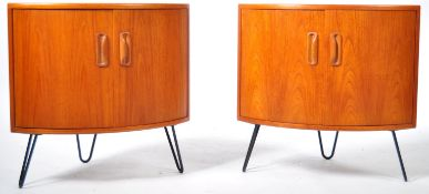 MID CENTURY G PLAN BEDSIDE TABLE CHEST / CUPBOARD RAISED ON HAIRPIN LEGS
