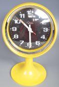 TRAFALGAR - GERMAN MID 20TH CENTURY RETRO PEDESTAL CLOCK