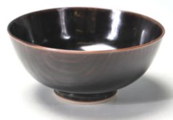 20TH CENTURY CERAMIC PORCELAIN ORIENTAL JAPANESE RICE BOWL.