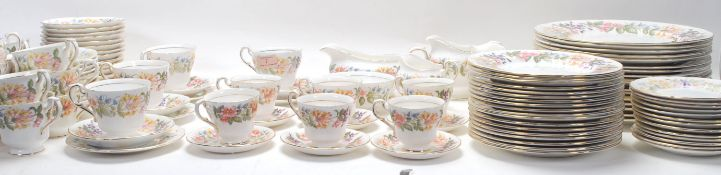 COLLECTION OF PARAGON CHINA COUNTRY LANE PATTERN TEA SERVICE