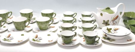 MIDWINTER STYLECRAFT 1950s TWO TONE TEA SERVICE