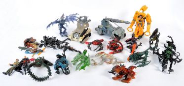 LARGE COLLECTION VINTAGE KENNER ' ALIENS ' ACTION FIGURES