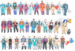 LARGE COLLECTION OF KENNER MASK ACTION FIGURES