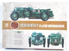 AIRFIX ORIGINAL VINTAGE 1930 BENTLEY MODEL KIT