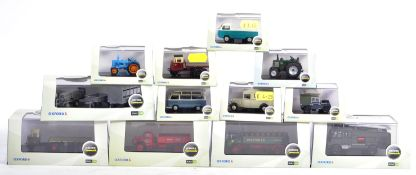 COLLECTION OF OXFORD 1/76 SCALE 00 GAUGE COMMERCIALS MODELS