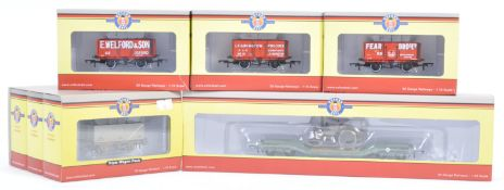 RAKE OF ASSORTED 00 GAUGE OXFORD RAIL ROLLING STOCK